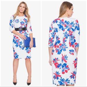 NWT Eloquii Printed Floral Dress